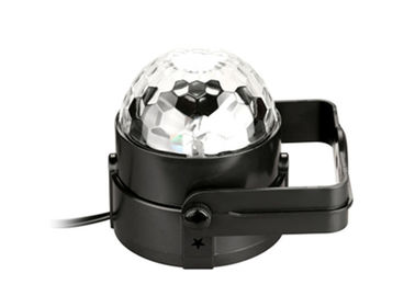 Chiny 220V LED Stage Spotlights Obracanie Disco Ball Light 3W Tanbaby Sound Activated fabryka